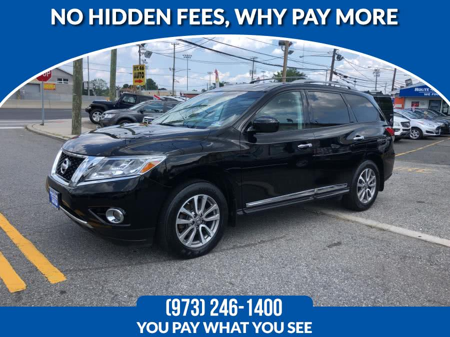 Used 2014 Nissan Pathfinder in Lodi, New Jersey | Route 46 Auto Sales Inc. Lodi, New Jersey