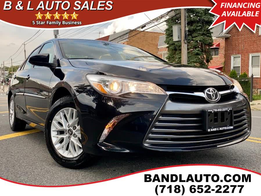 Used Toyota Camry LE Auto 2017 | B & L Auto Sales LLC. Bronx, New York