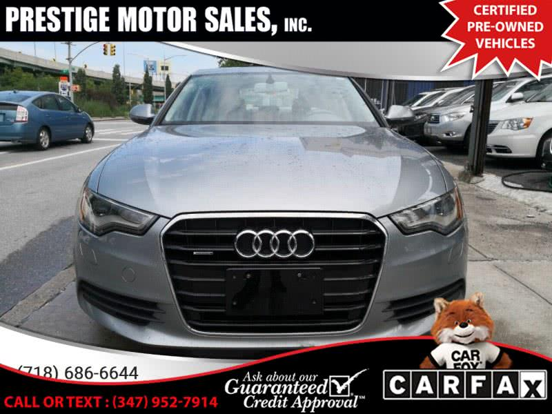 Used Audi A6 4dr Sdn quattro 3.0T Premium Plus 2012 | Prestige Motor Sales Inc. Brooklyn, New York