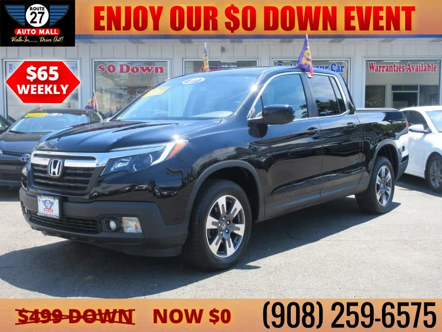 Used 2017 Honda Ridgeline in Linden, New Jersey | Route 27 Auto Mall. Linden, New Jersey