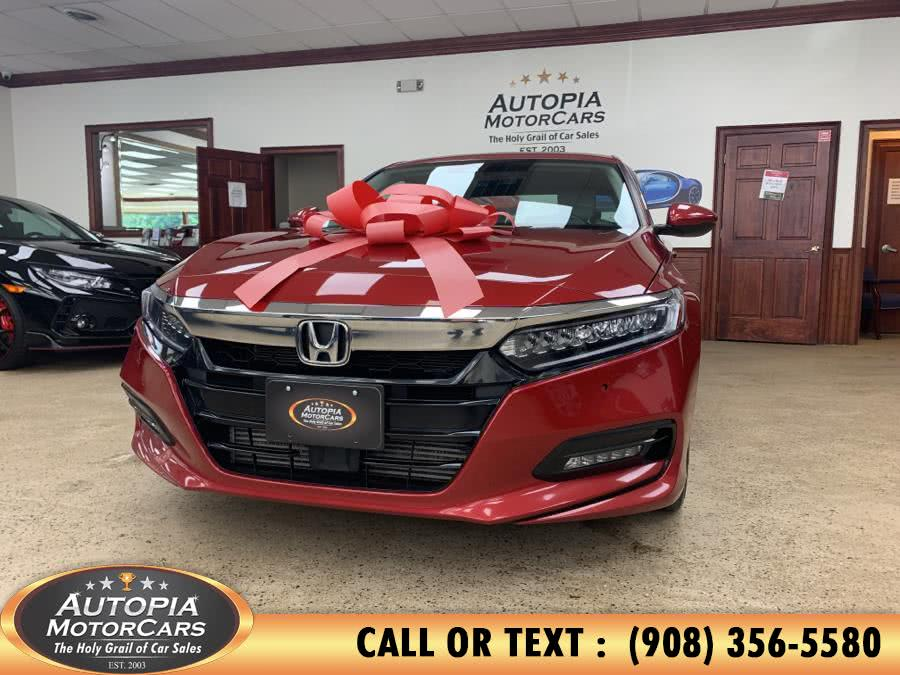 Used Honda Accord Sedan Touring 1.5T CVT 2018   Autopia Motorcars Inc. Union, New Jersey