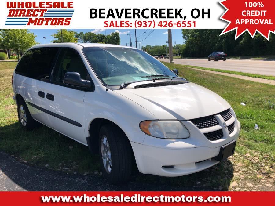 "Used Dodge Caravan 4dr SE 113"" WB 2003 | Wholesale Direct Motors. Beavercreek, Ohio"