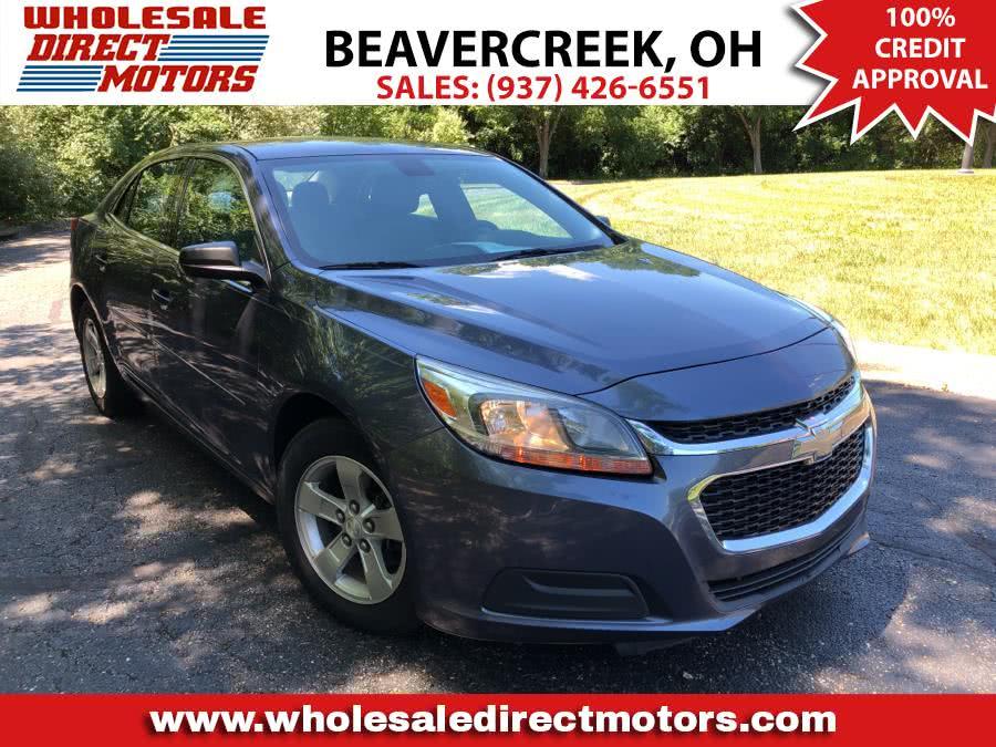 Used Chevrolet Malibu 4dr Sdn LS w/1LS 2014 | Wholesale Direct Motors. Beavercreek, Ohio