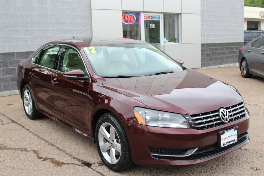 Used Volkswagen Passat 4dr Sdn 2.0  TDI SE 2012 | Carsonmain LLC. Manchester, Connecticut