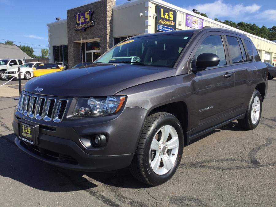 Used Jeep Compass 4WD 4dr Sport 2016   L&S Automotive LLC. Plantsville, Connecticut