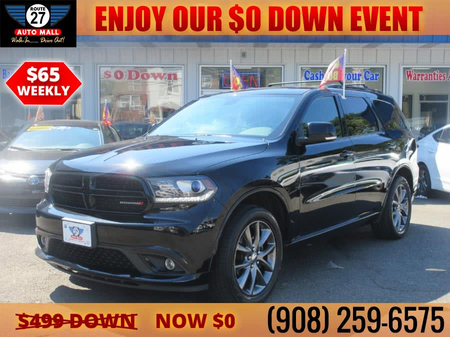 Used 2017 Dodge Durango in Linden, New Jersey | Route 27 Auto Mall. Linden, New Jersey