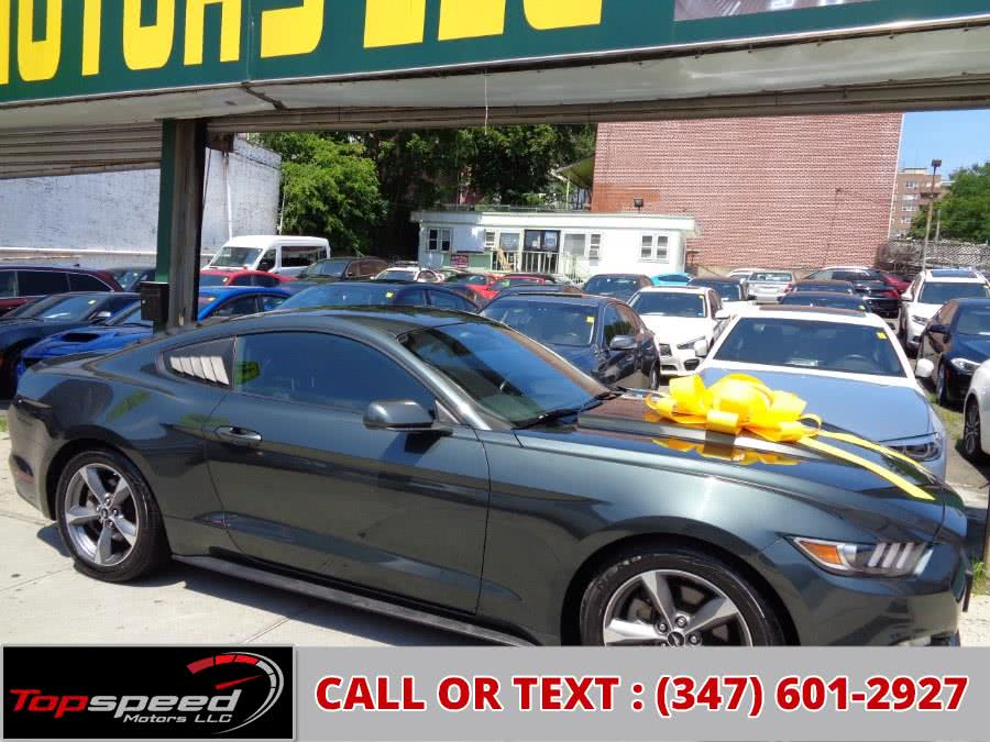 Used Ford Mustang 2dr Fastback V6 2016 | Top Speed Motors LLC. Jamaica, New York