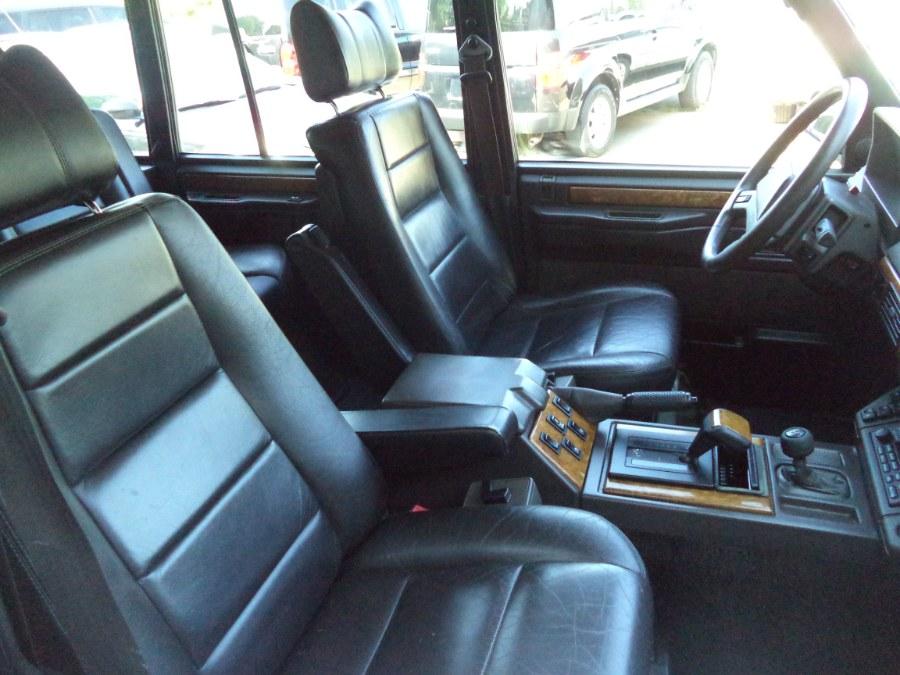 Used Land Rover Range Rover 4dr Wagon County Lwb Sable Edition 1993 | Riverside Motorcars, LLC. Naugatuck, Connecticut