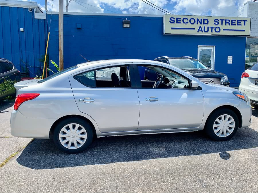 Used 2018 Nissan Versa Sedan in Manchester, New Hampshire | Second Street Auto Sales Inc. Manchester, New Hampshire