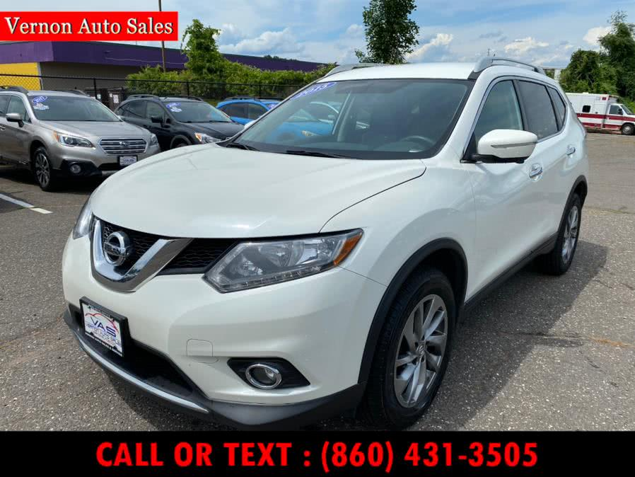 Used 2015 Nissan Rogue in Manchester, Connecticut | Vernon Auto Sale & Service. Manchester, Connecticut