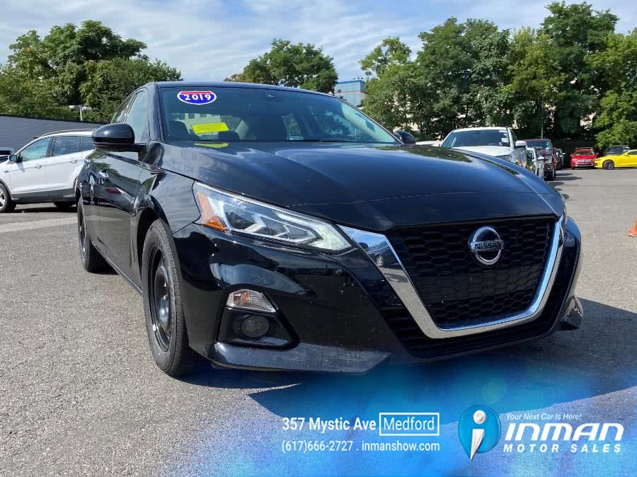 Used 2019 Nissan Altima in Medford, Massachusetts | Inman Motors Sales. Medford, Massachusetts