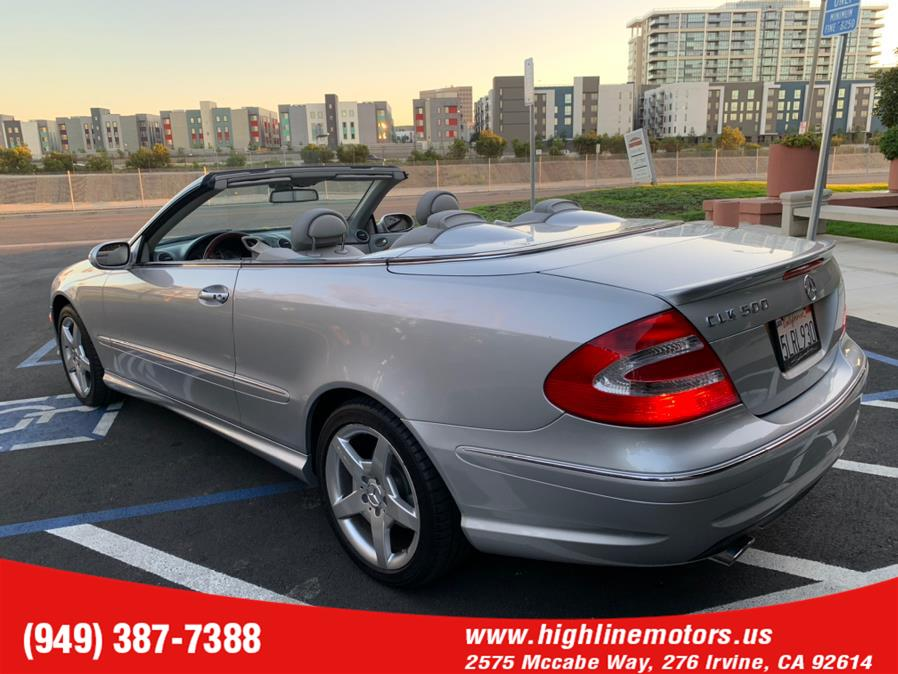 Used Mercedes-Benz CLK 500 AMG 2dr Cabriolet 5.0L 2005 | High Line Motors LLC. Irvine, California