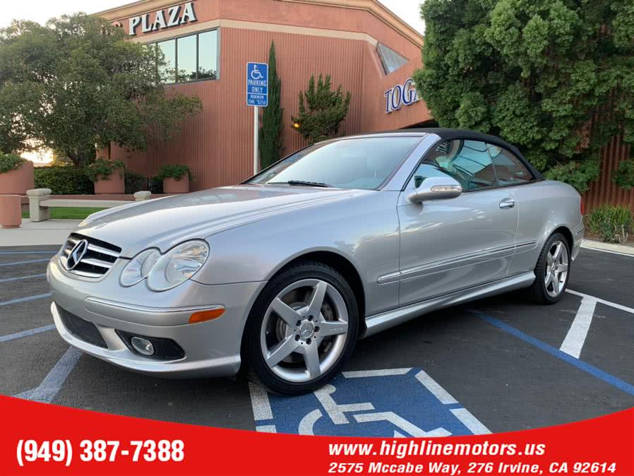 Used 2005 Mercedes-Benz CLK 500 AMG in Irvine, California | High Line Motors LLC. Irvine, California
