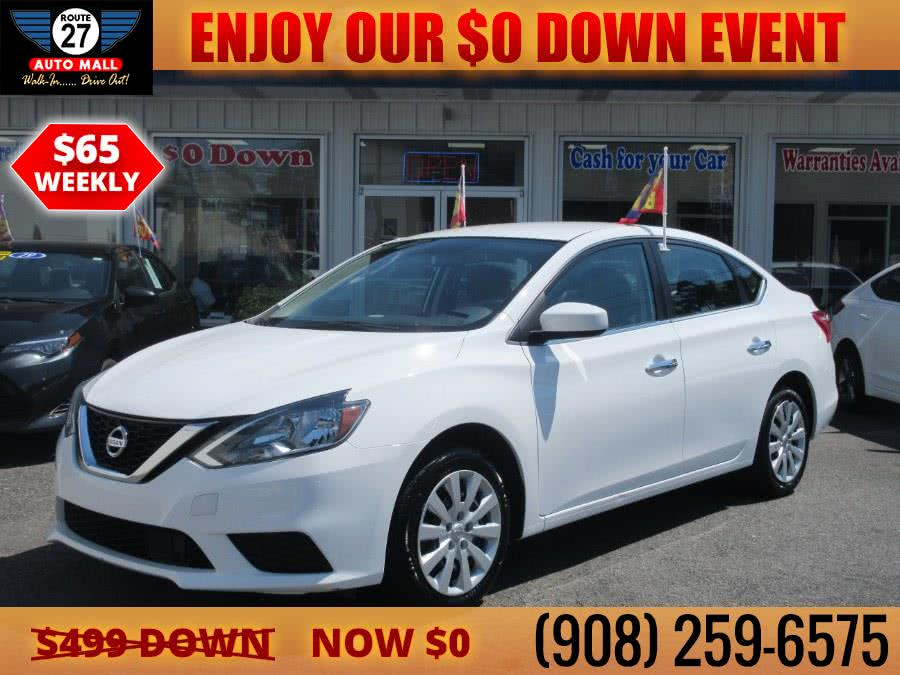 Used 2018 Nissan Sentra in Linden, New Jersey | Route 27 Auto Mall. Linden, New Jersey