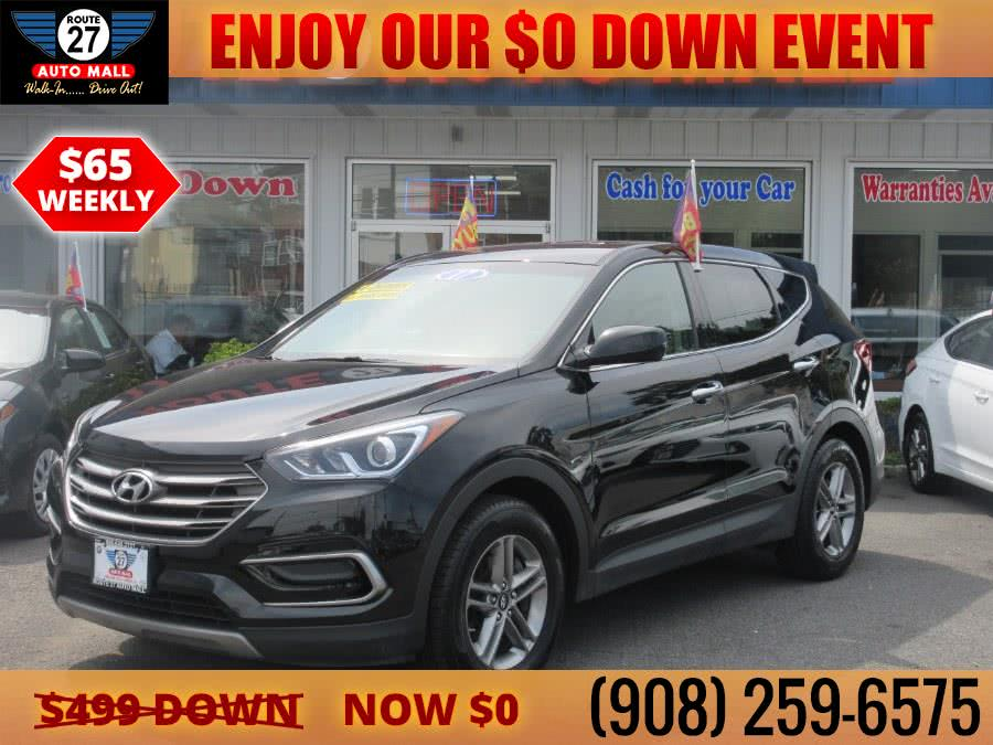 Used 2017 Hyundai Santa Fe Sport in Linden, New Jersey | Route 27 Auto Mall. Linden, New Jersey