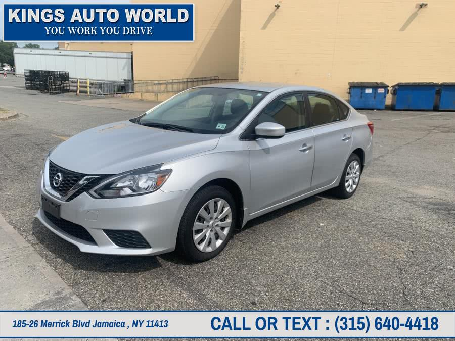 Used Nissan Sentra SV CVT 2017 | Kings Auto World. Jamaica , New York