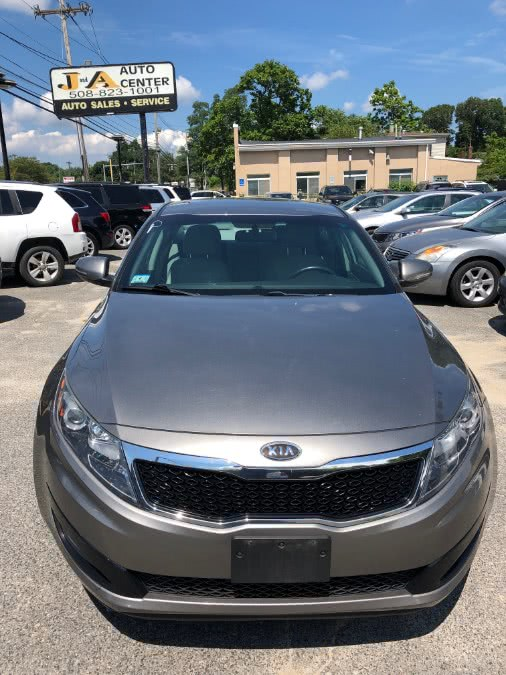 Used Kia Optima 4dr Sdn 2.4L Auto LX 2012 | J & A Auto Center. Raynham, Massachusetts