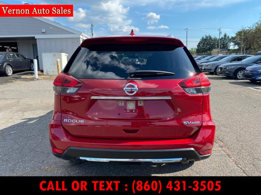 Used Nissan Rogue 2017.5 AWD SV 2017 | Vernon Auto Sale & Service. Manchester, Connecticut