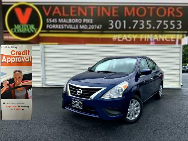 Used Nissan Versa Sedan SV 2019 | Valentine Motor Company. Forestville, Maryland