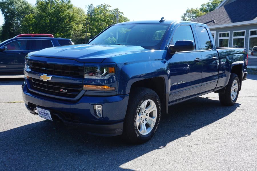 "Used Chevrolet Silverado 1500 4WD Double Cab 143.5"" LT w/2LT 2018   Rockland Motor Company. Rockland, Maine"