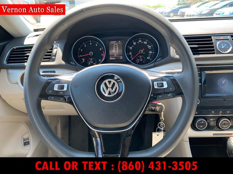 Used Volkswagen Passat 4dr Sdn 1.8T Auto S PZEV 2016 | Vernon Auto Sale & Service. Manchester, Connecticut