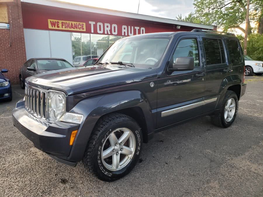 Used Jeep Liberty 4WD 4dr Limited Leather & Sunroof 2008 | Toro Auto. East Windsor, Connecticut