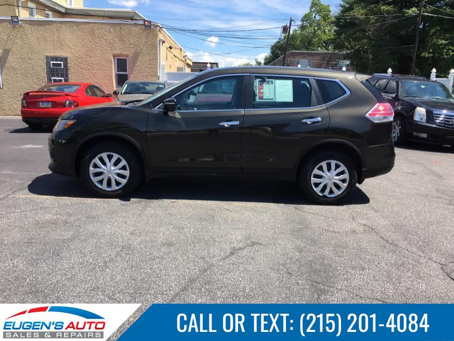 Used Nissan Rogue AWD 4dr S 2014 | Eugen's Auto Sales & Repairs. Philadelphia, Pennsylvania