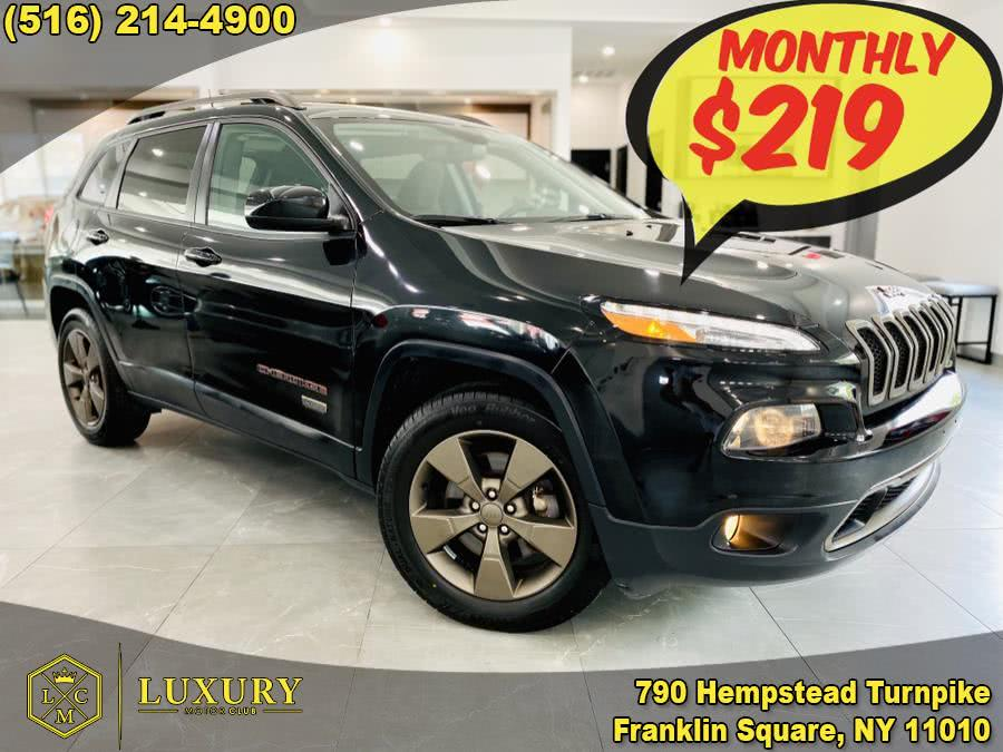 Used Jeep Cherokee 4WD 4dr 75th Anniversary 2016 | Luxury Motor Club. Franklin Square, New York