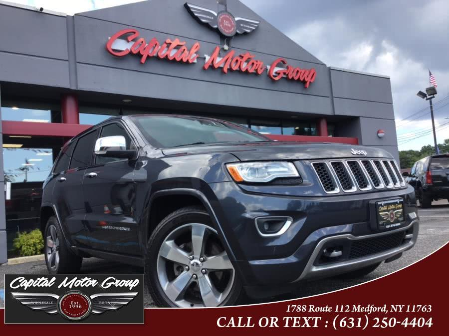 Used Jeep Grand Cherokee 4WD 4dr Overland 2015 | Capital Motor Group Inc. Medford, New York