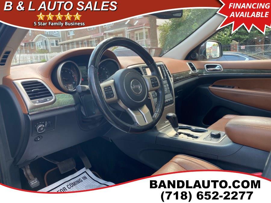 Used Jeep Grand Cherokee 4WD 4dr Overland Summit 2011 | B & L Auto Sales LLC. Bronx, New York