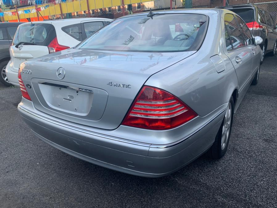 Used Mercedes-Benz S-Class 4dr Sdn 5.0L AWD 2003 | Atlantic Used Car Sales. Brooklyn, New York