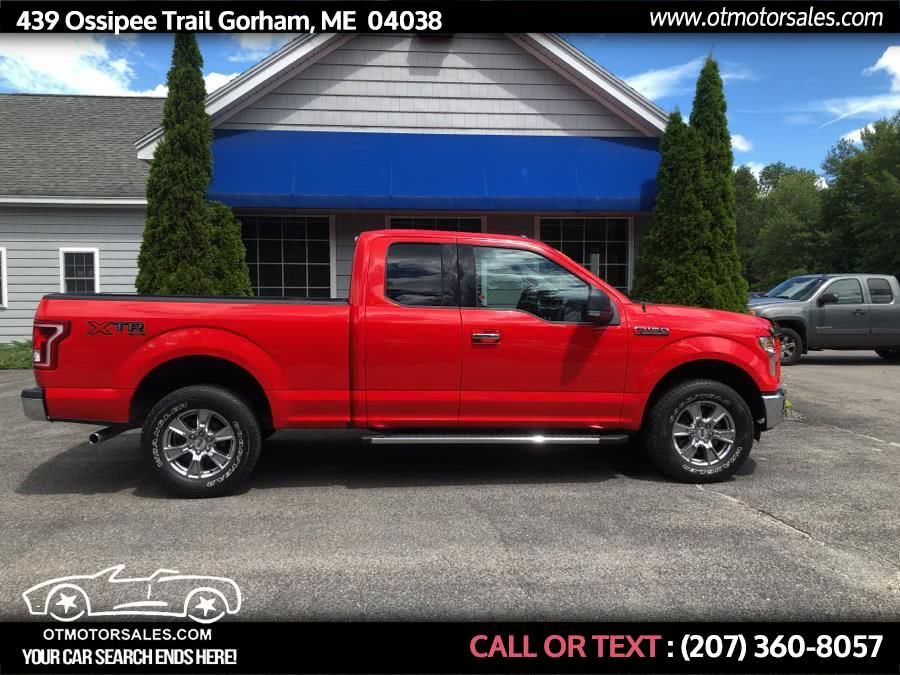 Used 2015 Ford F-150 in Gorham, Maine | Ossipee Trail Motor Sales. Gorham, Maine