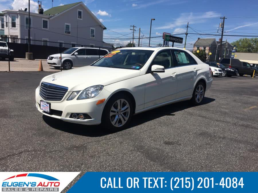 Used 2010 Mercedes-Benz E-Class in Philadelphia, Pennsylvania | Eugen's Auto Sales & Repairs. Philadelphia, Pennsylvania
