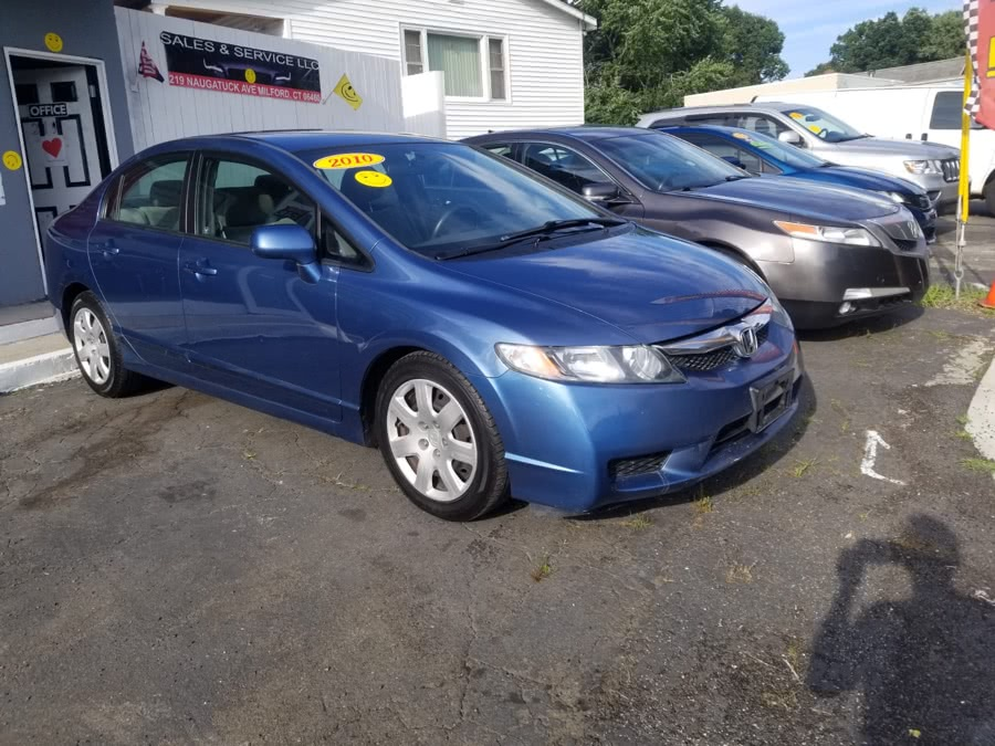 Used 2010 Honda Civic Sdn in Milford, Connecticut | Adonai Auto Sales LLC. Milford, Connecticut