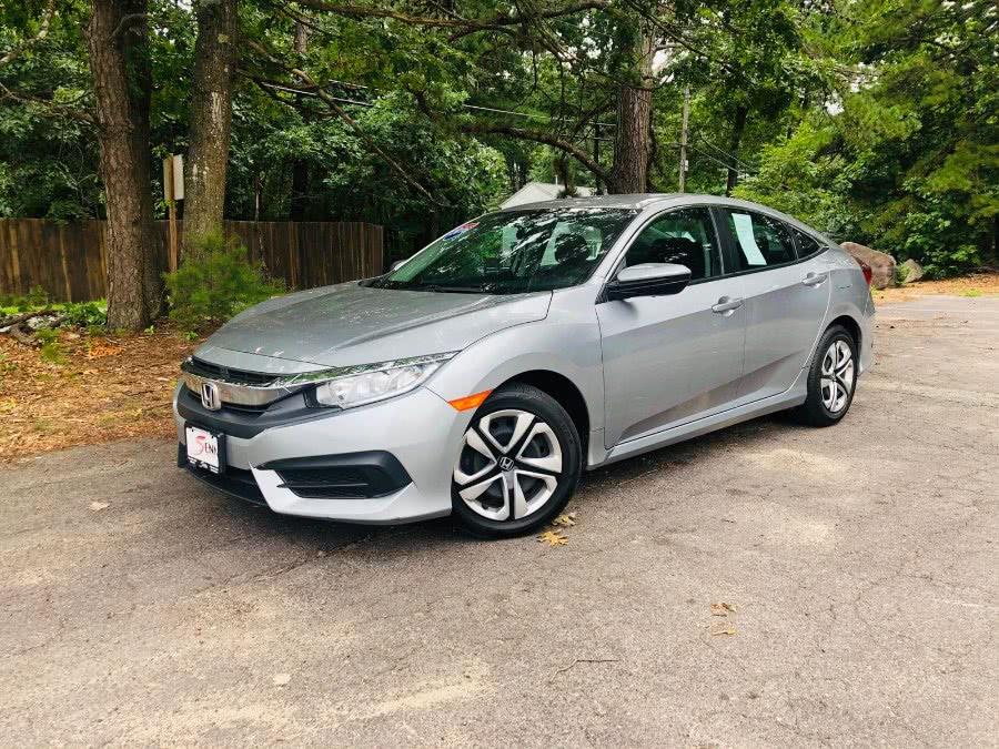 Used Honda Civic Sedan 4dr CVT LX 2016 | Sena Motors Inc. Revere, Massachusetts