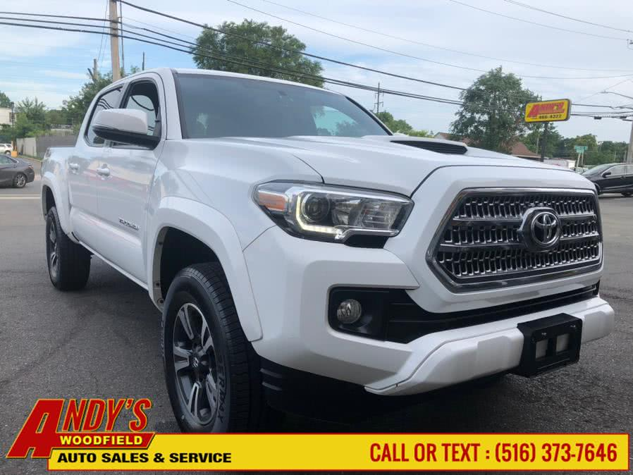 Used Toyota Tacoma TRD Sport Double Cab 5'' Bed V6 4x4 MT (Natl) 2017 | Andy's Woodfield. West Hempstead, New York