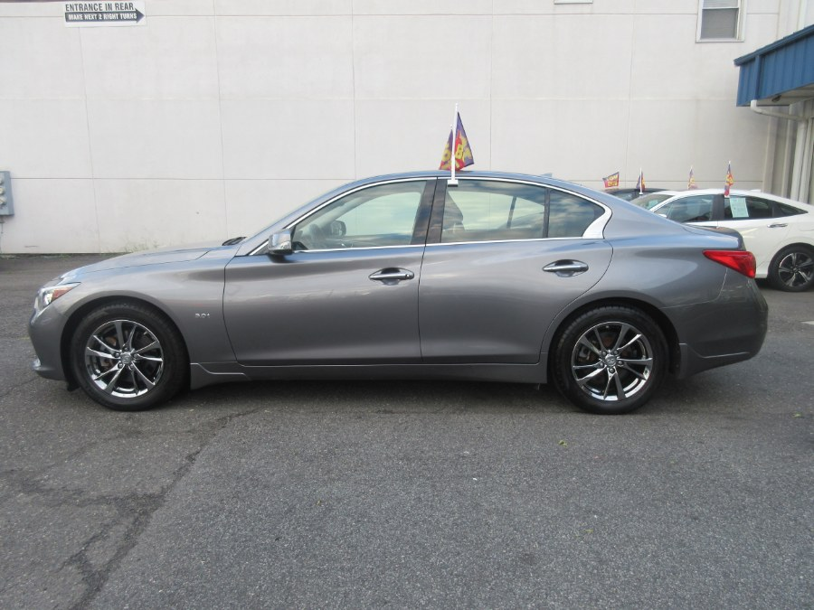 Used INFINITI Q50 3.0t Signature Edition AWD 2017   Route 27 Auto Mall. Linden, New Jersey