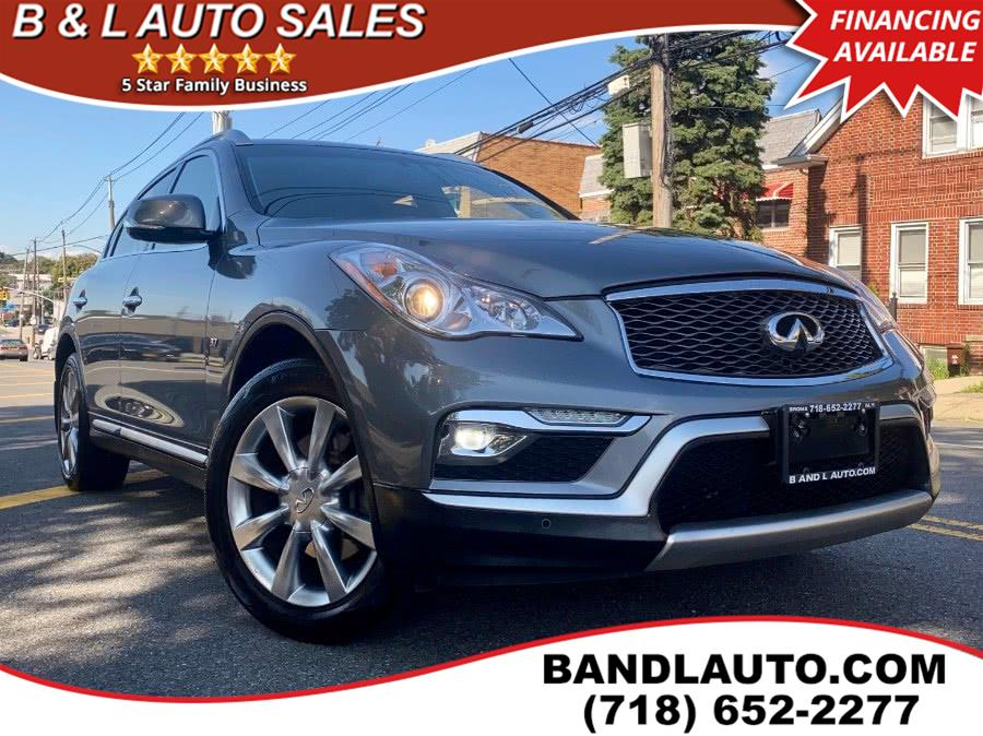 Used 2017 INFINITI QX50 in Bronx, New York | B & L Auto Sales LLC. Bronx, New York