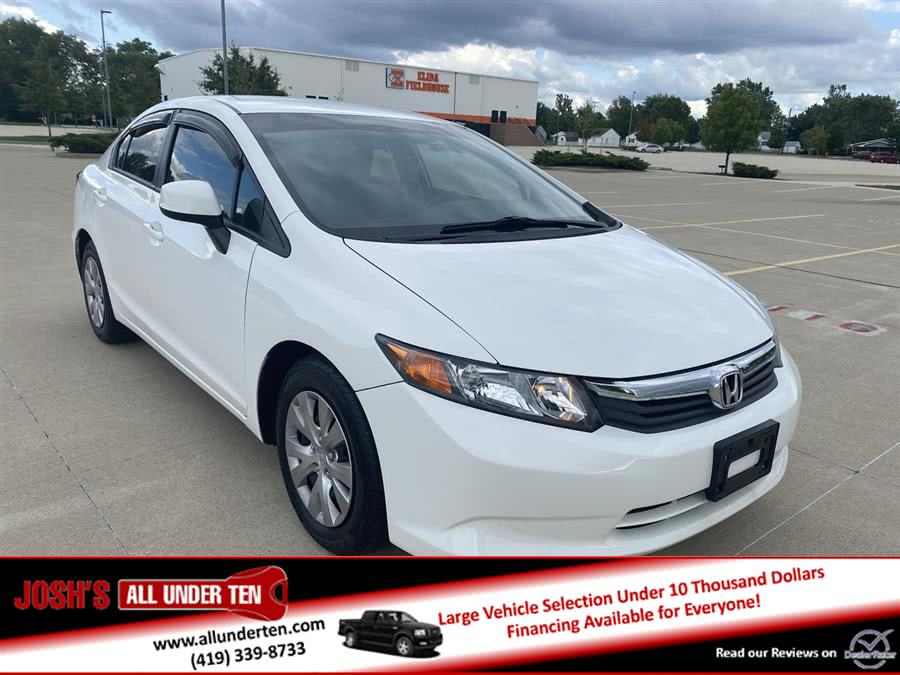 Used 2012 Honda Civic Sdn in Elida, Ohio | Josh's All Under Ten LLC. Elida, Ohio