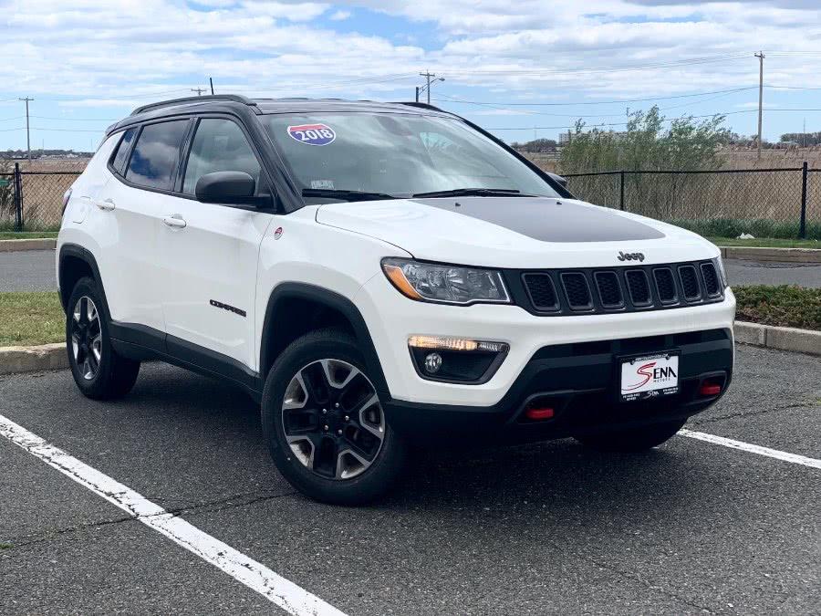 Used Jeep Compass Trailhawk 4x4 2018 | Sena Motors Inc. Revere, Massachusetts