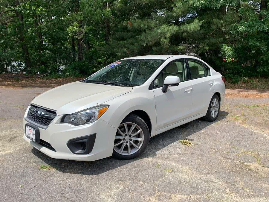 Used Subaru Impreza Sedan 4dr Auto 2.0i Premium 2013 | Sena Motors Inc. Revere, Massachusetts