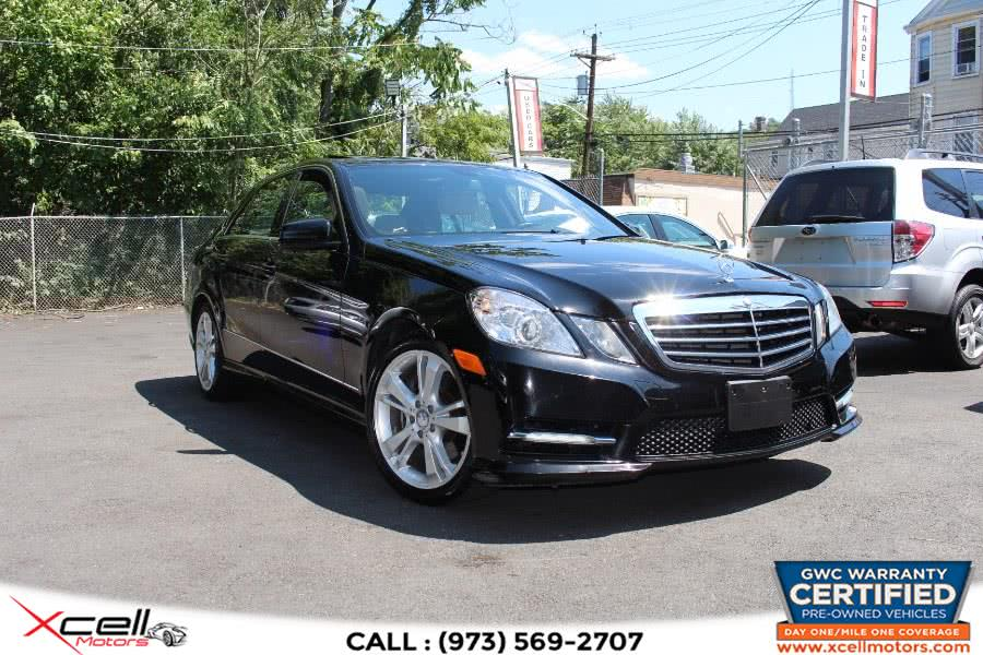 Used 2012 Mercedes-Benz E-Class Luxury 4MATIC in Paterson, New Jersey | Xcell Motors LLC. Paterson, New Jersey