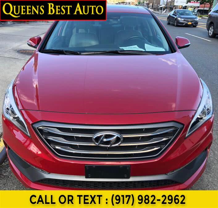 Used Hyundai Sonata Sport 2.4L PZEV 2017 | Queens Best Auto, Inc.. Jamaica, New York