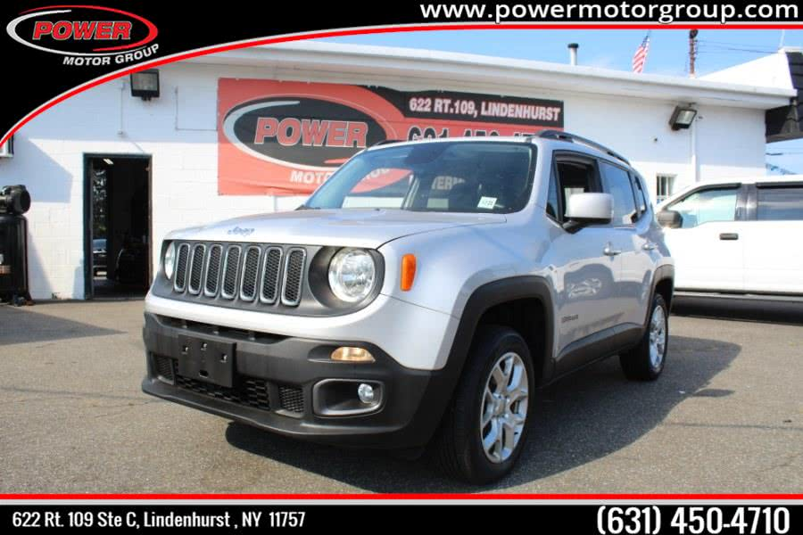 2016 Jeep Renegade 4WD 4dr Latitude, available for sale in Lindenhurst , NY