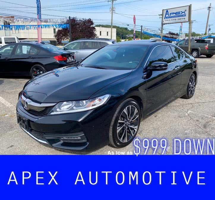 Used 2017 Honda Accord Coupe in Waterbury, Connecticut | Apex  Automotive. Waterbury, Connecticut