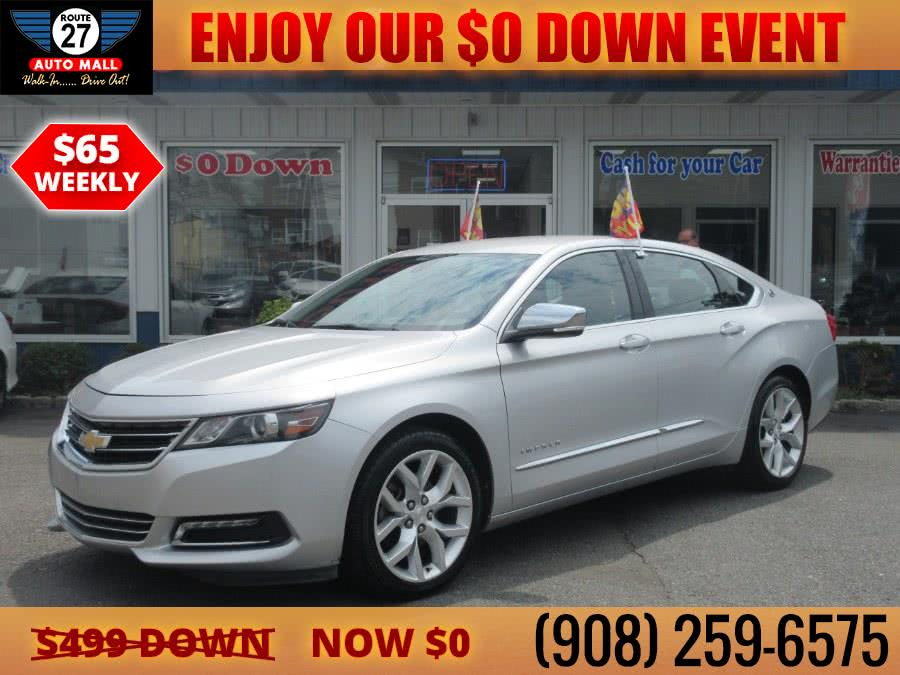 Used 2018 Chevrolet Impala in Linden, New Jersey | Route 27 Auto Mall. Linden, New Jersey