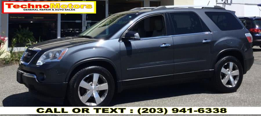 Used 2012 GMC Acadia in Danbury , Connecticut | Techno Motors . Danbury , Connecticut
