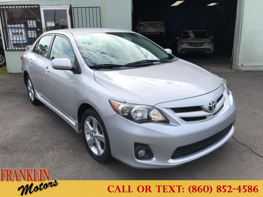 Used 2012 Toyota Corolla in Hartford, Connecticut | Franklin Motors Auto Sales LLC. Hartford, Connecticut