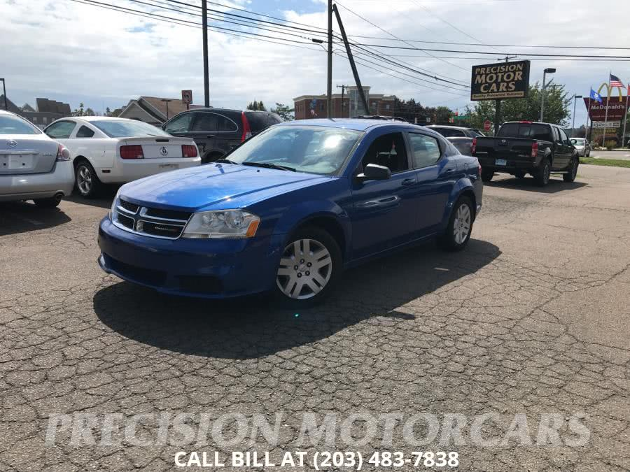 Used 2012 Dodge Avenger in Branford, Connecticut | Precision Motor Cars LLC. Branford, Connecticut