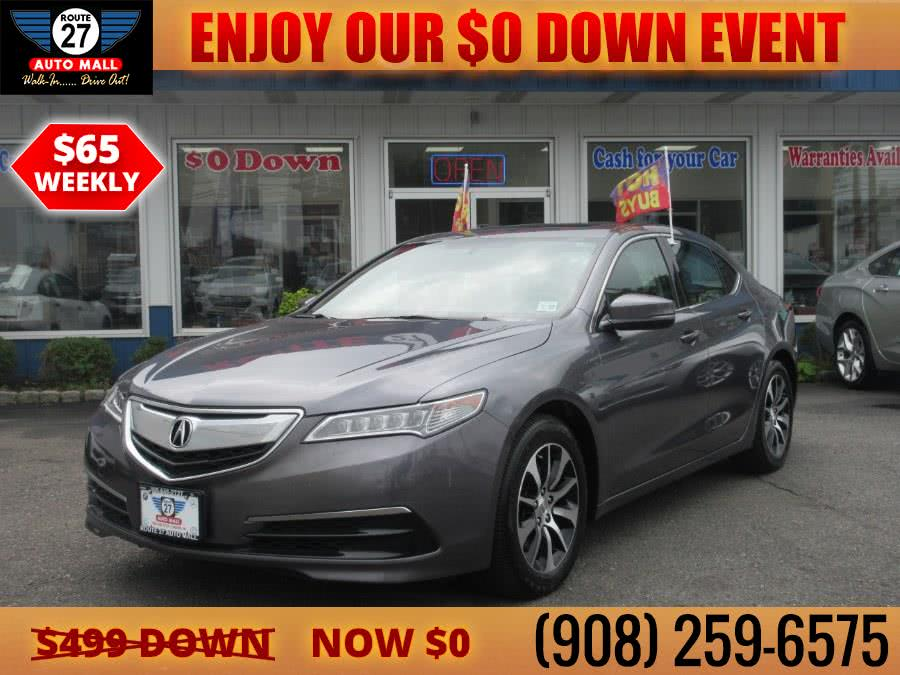 Used 2017 Acura TLX in Linden, New Jersey | Route 27 Auto Mall. Linden, New Jersey
